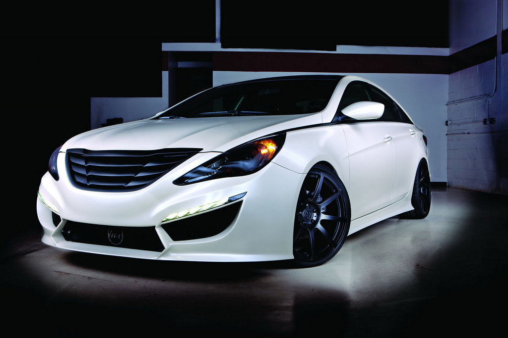 2010 Sema Custom Hyundai Sonata Turbo By Rides And 0 60 Magazines Autoevolution