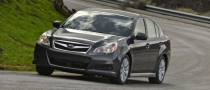 2010 Subaru Legacy Steers Towards Russia
