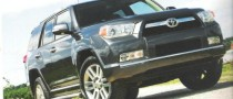 2010 Toyota 4Runner Official Images Leaked