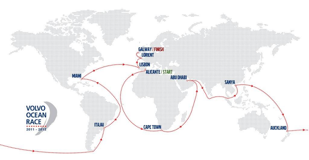 volvo ocean race 2011- 2012