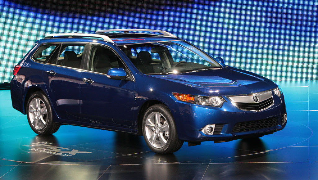 2011 acura tsx sport wagon world premiere at nyias. Black Bedroom Furniture Sets. Home Design Ideas