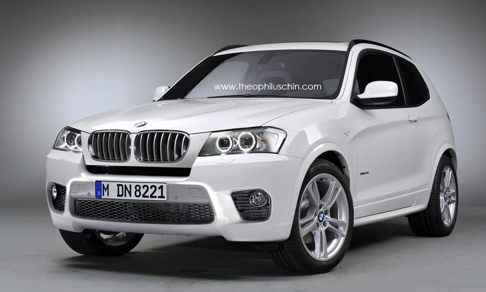BMW X3 3-Door front view & 2011 BMW X3 3-Door Imagined - autoevolution Pezcame.Com