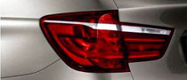 2011 BMW X3 Taillight Comes Out