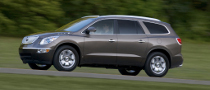 2011 Buick Enclave, Five Stars Rating from the NHTSA