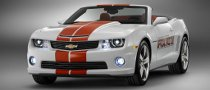 2011 Chevrolet Camaro SS Convertible Indy 500 Pace Car Announced