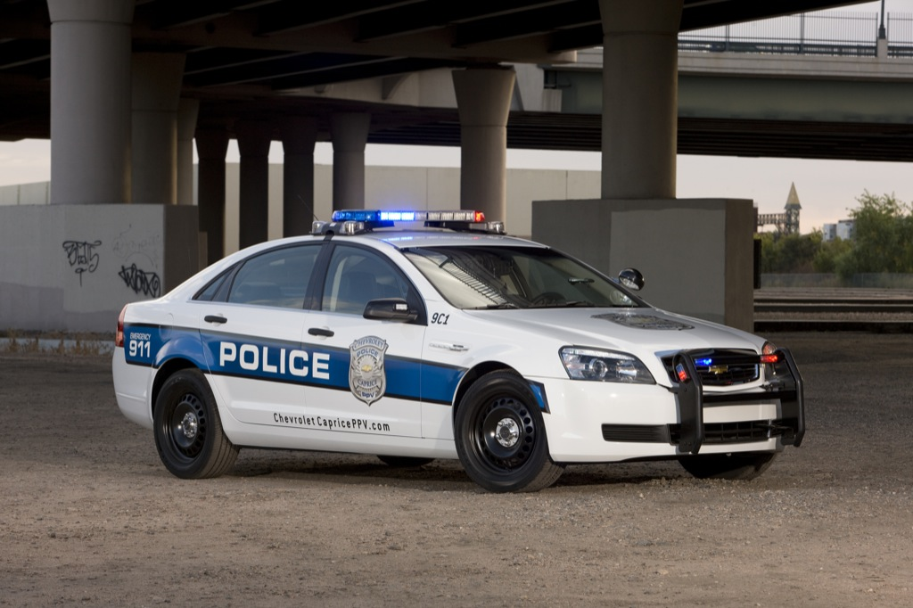 2011 Chevrolet Caprice Police Car Revealed Autoevolution