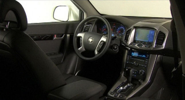 2011 Chevrolet Captiva Interior Photo Autoevolution