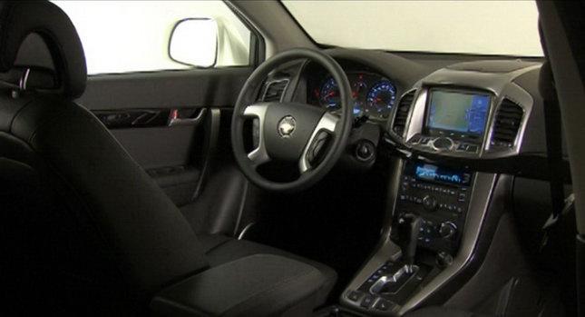 2011 Chevrolet Captiva Interior Photo Autoevolution