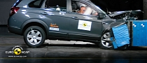 2011 Chevrolet Captiva Receives 5-Star Euro NCAP Rating