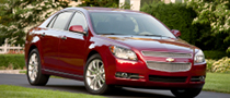 2011 Chevrolet Malibu Receives IIHS Top Safety Pick