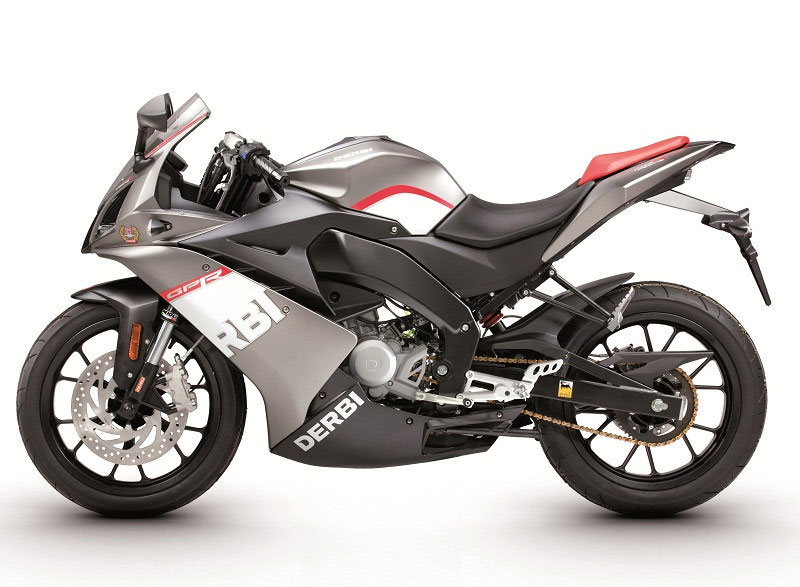 2011 Derbi GPR50 and GPR125 Get Racing Colors - autoevolution