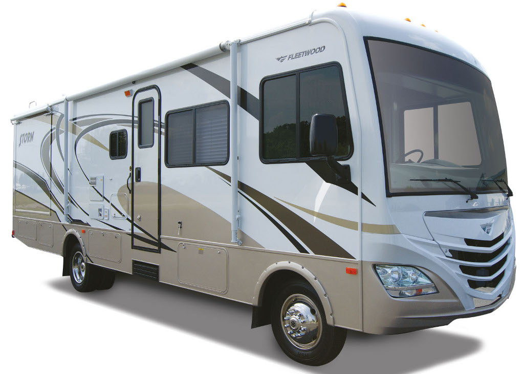2011 fleetwood rv storm crossover motor home launched autoevolution. Black Bedroom Furniture Sets. Home Design Ideas