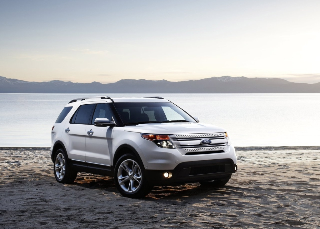 2011 ford explorer gets goodyear tires - autoevolution