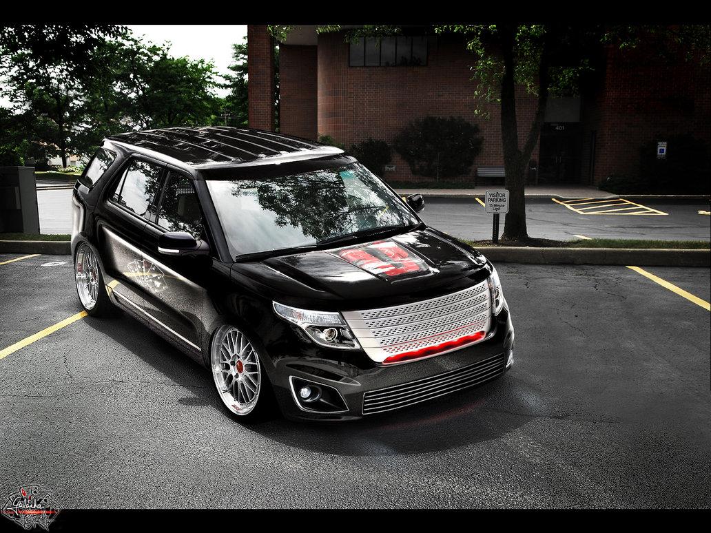 2011 Ford Explorer Gets Virtual Makeover Autoevolution
