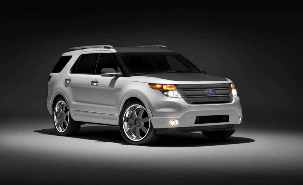 2011 Ford Explorer Lux Adventure And Urban At Sema 2010