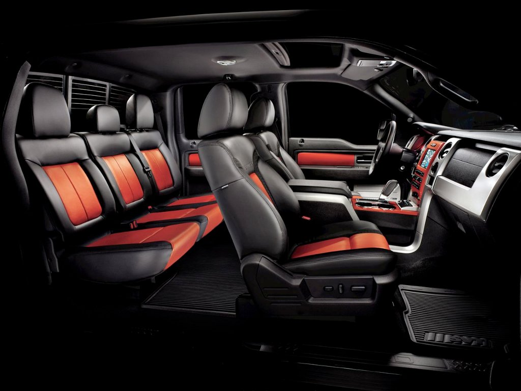 Interior image of the new Raptor. The 2011 Ford ...