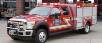 2011 Ford F-550 Super Duty Fire Truck in LA
