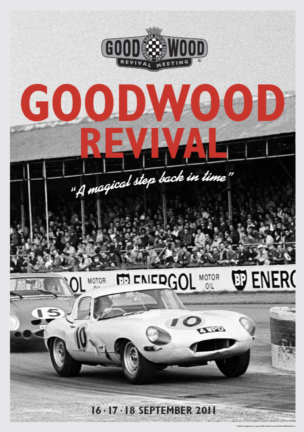 2011 goodwood festival of speed and revival posters