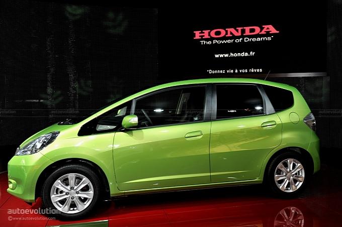 2011 Honda Jazz Hybrid Cheapest Hybrid In Japan Autoevolution