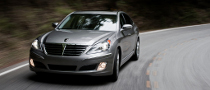 2011 Hyundai Equus Named IIHS Top Safety Pick