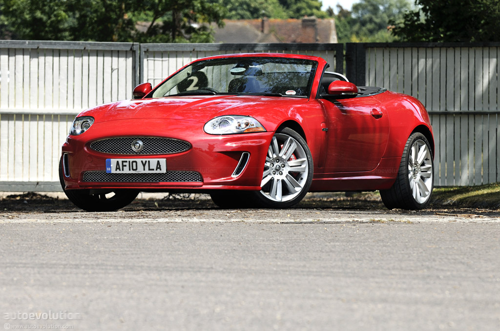 2011 Jaguar XK-R Convertible Short Review - autoevolution