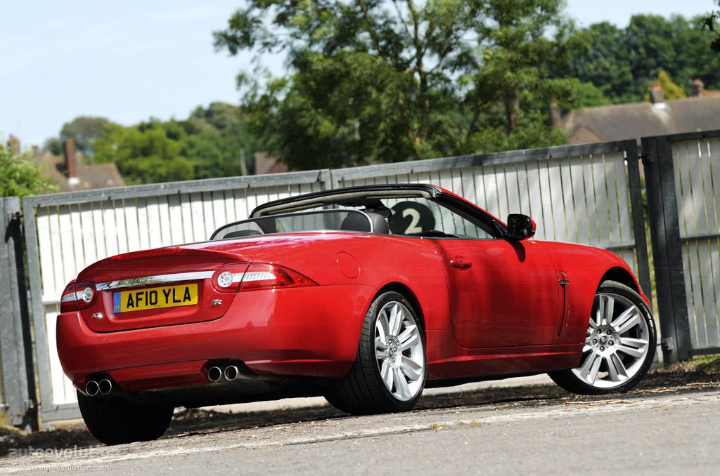 2011 Jaguar Xk R Convertible Short Review Autoevolution