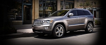 2011 Jeep Grand Cherokee Overland Summit Caught in Advertising Spree