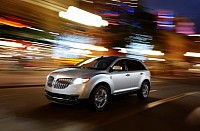 The 2011 Lincoln MKX luxury crossover