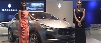 2011 Maserati Kubang Concept at 2011 Dubai Motor Show [Video]