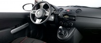 2011 Mazda2 Interior Upgraded for North America