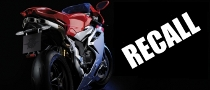 2011 MV Agusta F4 Motorcycles Recalled