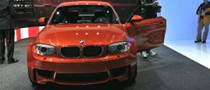 2011 NAIAS: BMW 1 Series M Coupe [Live Photos]