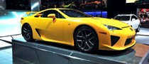 2011 NAIAS: Orange Lexus LFA [Live Photos]