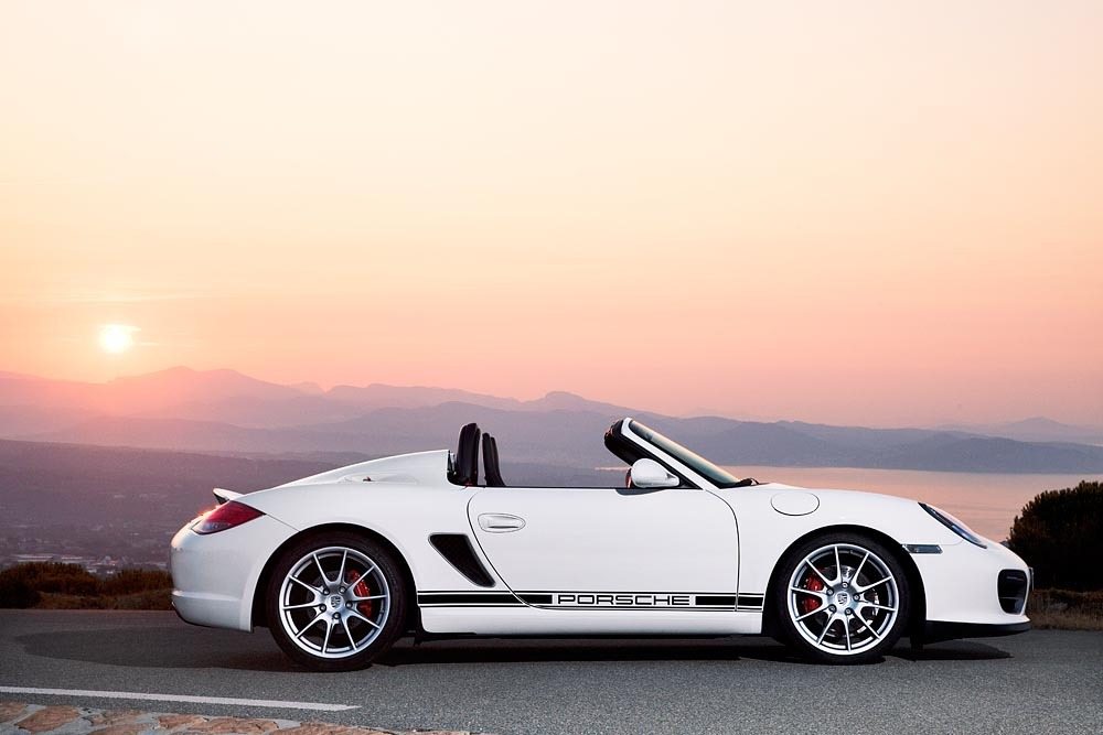 Update 2011 Porsche Boxster Spyder Debuts In La Priced
