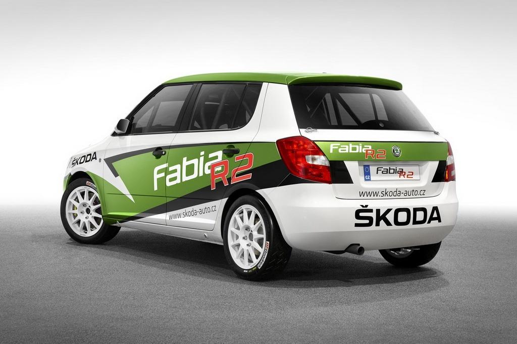 2011 skoda fabia r2 rally car unveiled autoevolution. Black Bedroom Furniture Sets. Home Design Ideas