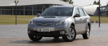 2011 Subaru Outback Launches in Ireland