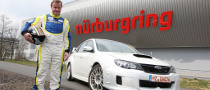2011 Subaru WRX STI Tested at the Nurburgring