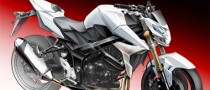 2011 Suzuki GSR750 Teaser Sketch Released