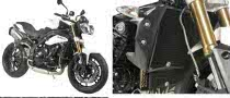 2011 Triumph Speed Triple Gets R&G Racing Accessories