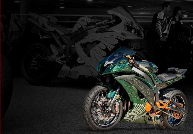 2011 Yamaha Custom Sportbike Show Details Announced