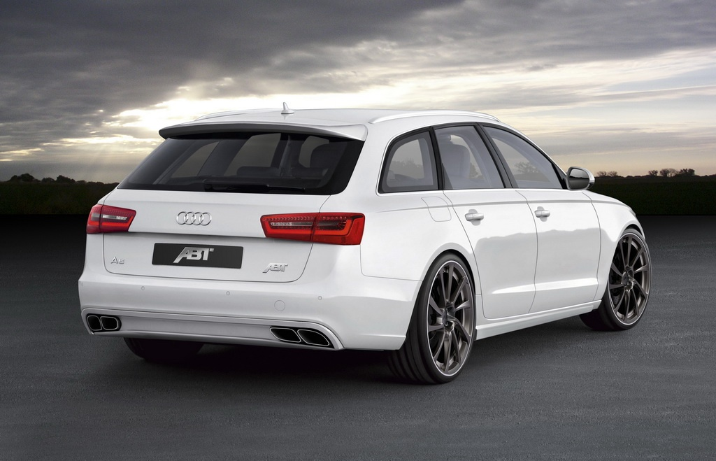 2012 audi a6 avant by abt sportsline unveiled autoevolution. Black Bedroom Furniture Sets. Home Design Ideas
