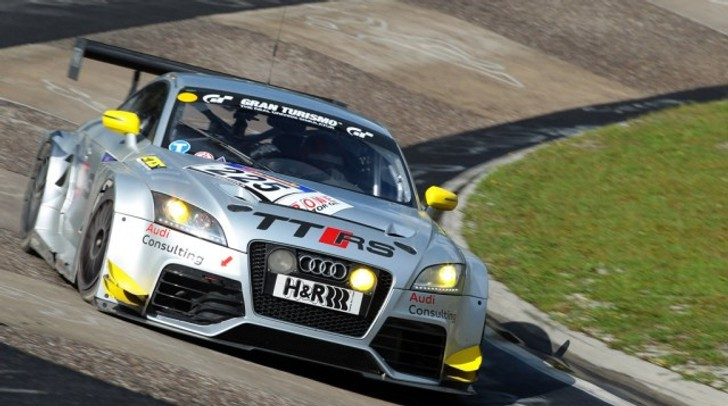 2012 Audi TT RS Customer Race Car Goes on Sale for €180,000
