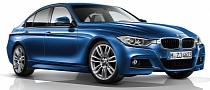 2012 BMW 3-Series F30 M Sport Package Unveiled [Photo Gallery]