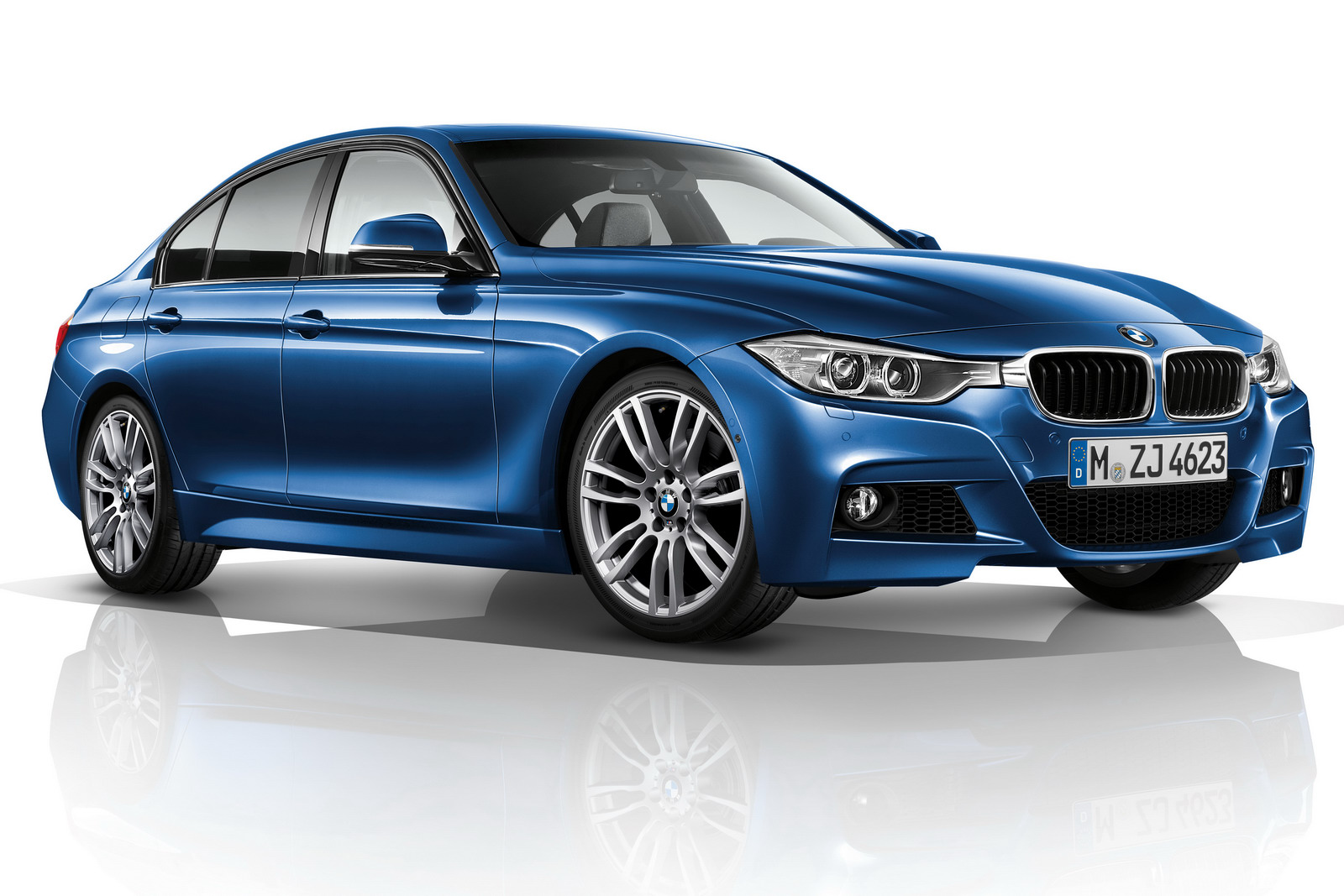 2012 bmw 3 series f30 m sport package unveiled autoevolution. Black Bedroom Furniture Sets. Home Design Ideas