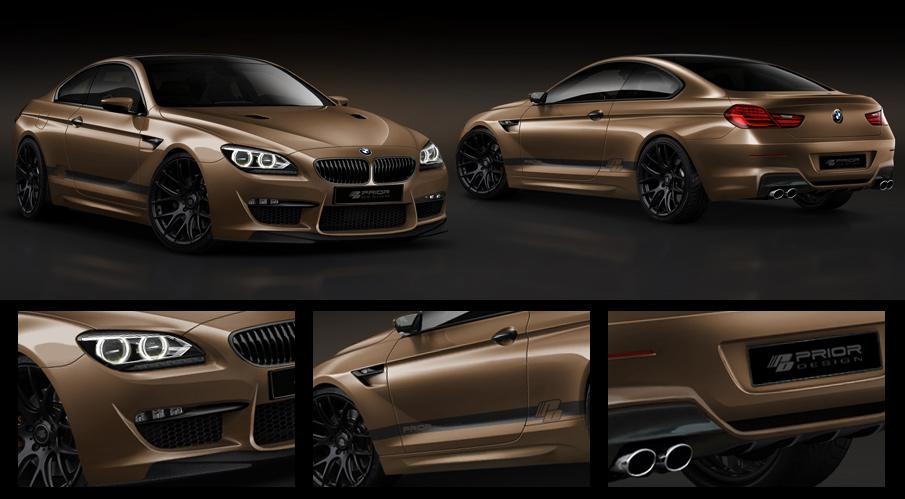 2012 BMW 6 Series Coupe Tuned by Prior Design - autoevolution