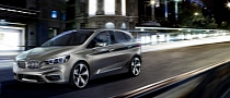 2012 BMW Active Tourer Concept Revealed: Previews 1er GT [Photo Gallery]