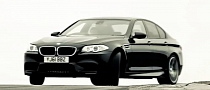 2012 BMW M5. Exhaust Sound. Power Slide. Awesome. [Video]