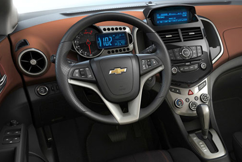 2012 Chevrolet Aveo First Pictures Autoevolution