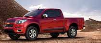 2012 Chevrolet Colorado Pickup Not Coming to US Until 2014