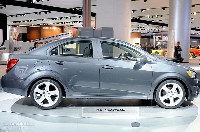 2012 Chevrolet Sonic Priced From Under 15000 Autoevolution